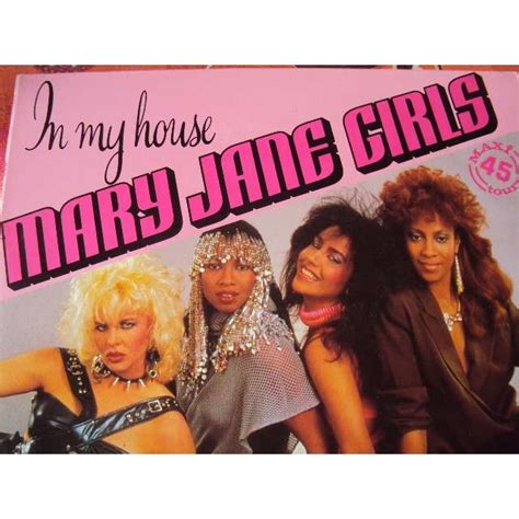 mary jane girls in my house in my house long version 5 00 1985 france maxiboxlp by