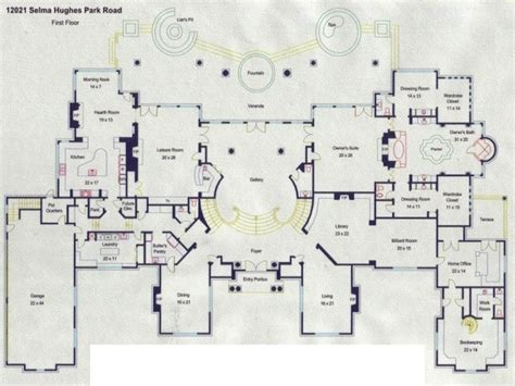 Mega House Plans mega mansion floor plans luxury mansion floor plans