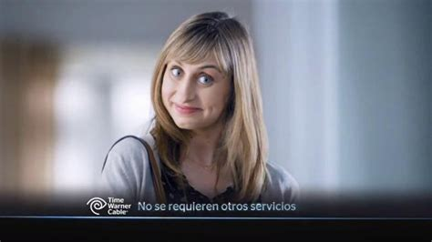 Twc Commercial Actress | time warner cable internet tv spot mejor precio