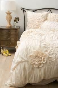 Ruffled Duvet Cover Decorar Tu Dormitorio Shabby Chic Fotos