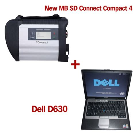 Laptop Dell Latitude D630 Second new sd connect compact 4 with v09 2017 software plus dell d630 4gb laptop second