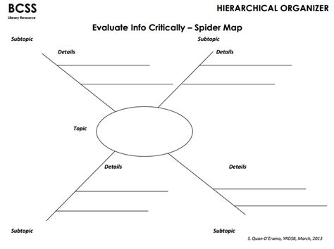 spider map graphic organizer pages graphic organizers