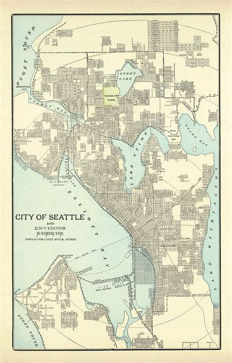 seattle map etsy 93 best images about we pikes place on