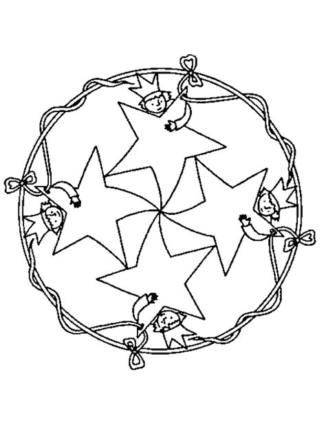 imagenes de mandalas navide as para pintar mandalas de navidad para colorear