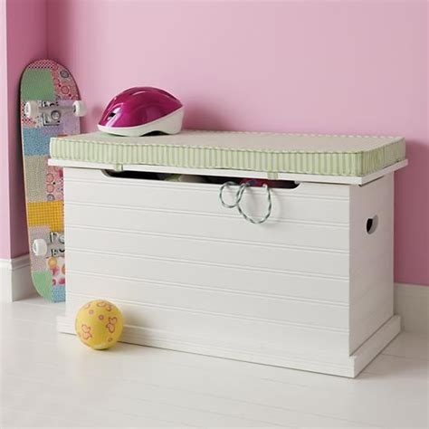 white toy box bench beat our chest toy chest white