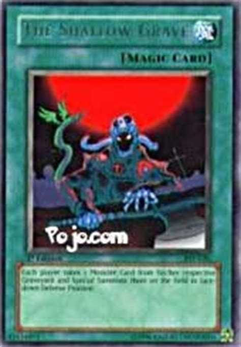 the shallow grave yu gi oh yu gi oh card of the day card reviews yugioh tips