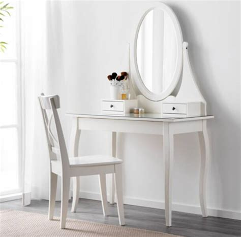 Ikea Brimnes Meja Rias Putih jual ikea hemnes meja rias dgn cermin putih 100x50 cm ikea freak