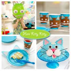 Kitchen Designer Free cat themed birthday party living locurto