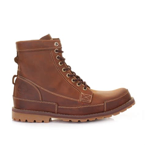 timberland rugged timberland earthkeepers rugged 6 inch burnished brown leather boots size 6 11 5 ebay