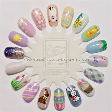 easter nail designs easter nail design easter nails by aipe easter nail