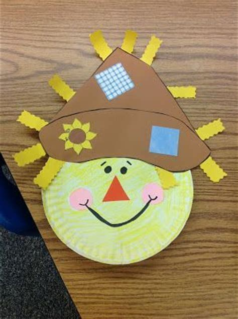 Paper Plate Scarecrow Craft - best 25 scarecrow crafts ideas on fall kid