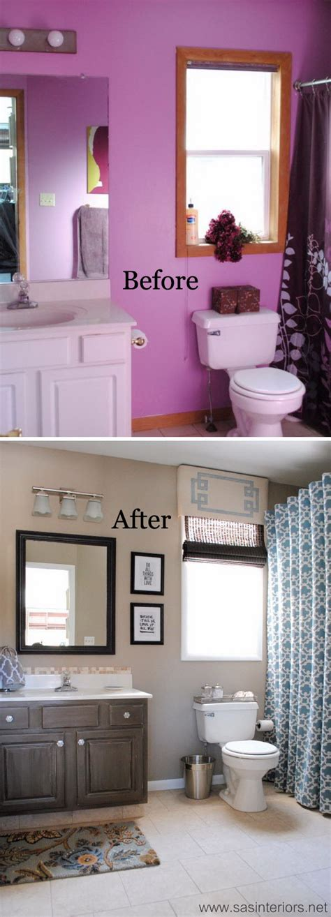 Before And After Bathroom Makeovers by Before And After 20 Awesome Bathroom Makeovers Hative