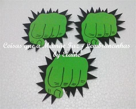 apliques vingadores eva 10 apliques em eva vingadores p hulk larg 10 cm x alt 9