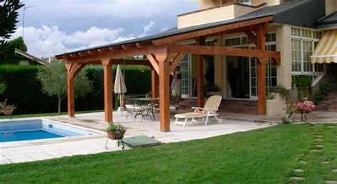 hacer un porche de madera porches de madera lo que debes saber antes instalar uno
