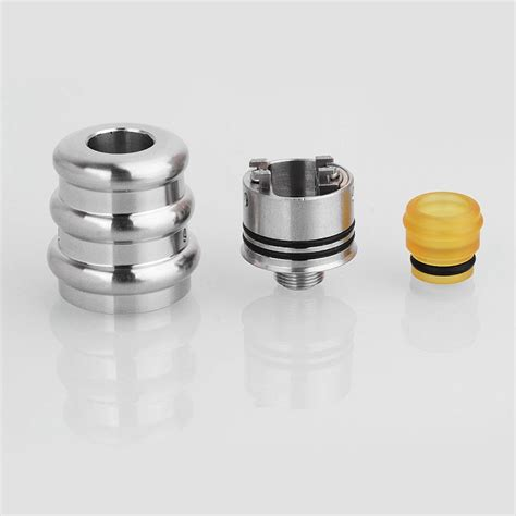Authentic Iwodevape Vape Band Karet Vape Atomizer Rda Mod authentic yc vape f tower bf rda silver 18mm rebuildable
