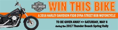Harley Davidson Giveaway 2017 - 2017 harley davidson street bob rally motorcycle giveaway familysavings