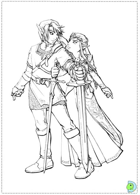 free printable zelda coloring pages free legend of the coloring pages