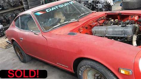 Craigslist San Fernando Valley Garage Sales by 1973 Datsun 240z For Sale In San Fernando Ca 7500