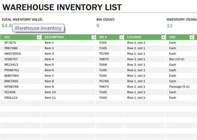 warehouse layout using excel learn microsoft excel warehouse inventory template free
