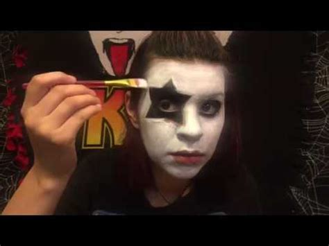 kiss makeup tutorial star child kiss makeup tutorial series paul stanley