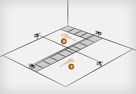 schema posa piastrelle posare le piastrelle in 9 fasi consigli obi