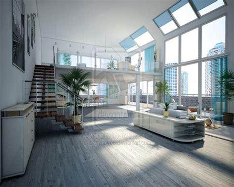 2013 şık loft tasarım ev salon bizde