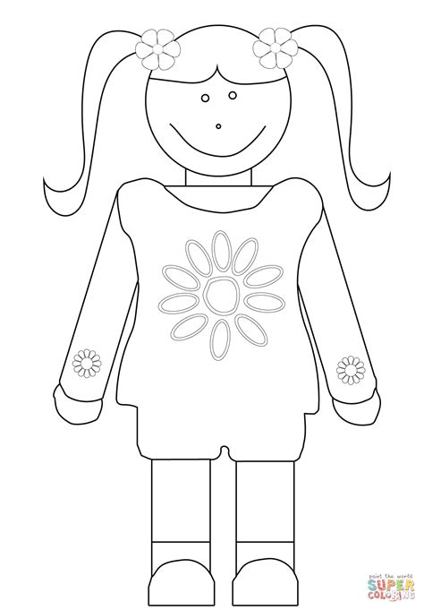girl scouts daisy coloring pages az coloring pages