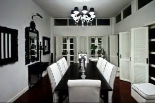 black and white slipcovers beautiful black and white dining room set images
