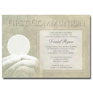 first communion non photo invitations