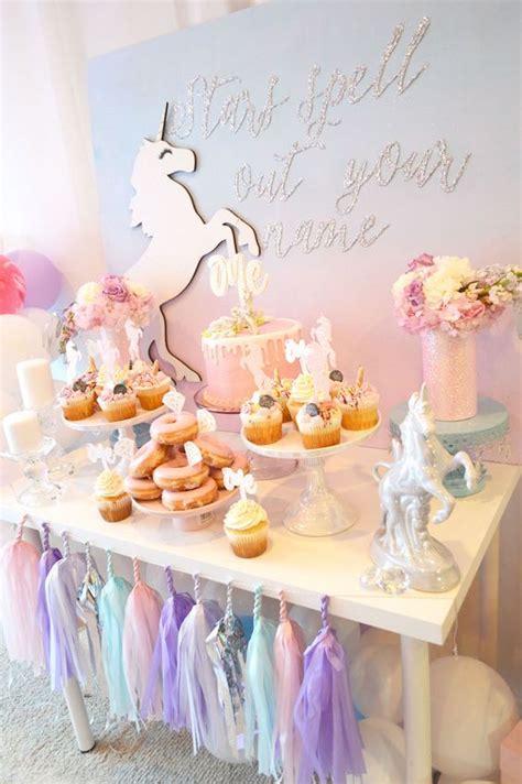 unicorn bridal shower party ideas page