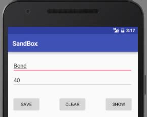 android reset edittext how to save and load data via shared preferences in