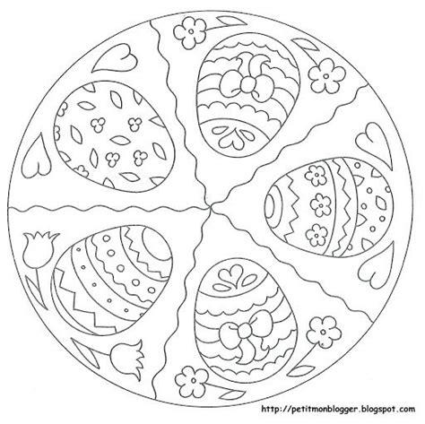 die besten  mandala ostern ideen auf pinterest