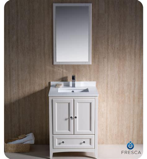 fresca oxford 24 quot traditional bathroom vanity antique
