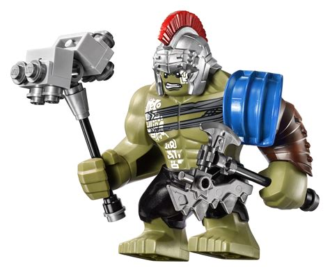 Lego Thor Ragnarok Brick Minifigure With Axe And Hammer thor ragnarok gets the lego treatment in two glorious sets