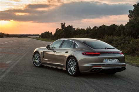 porsche panamera turbo 2017 back 2017 porsche panamera turbo s e hybrid revealed autocar