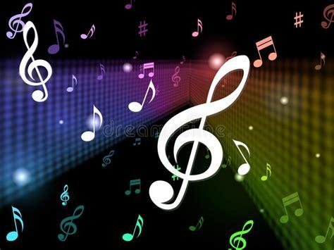 imagenes temas musicales medios del fondo de la m 250 sica que juegan notas y canciones