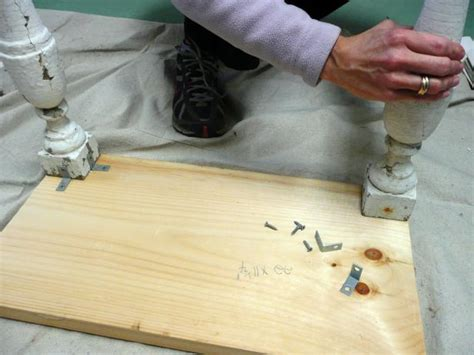 diy attach table legs how to make a table from an suitcase how tos diy