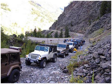 Ouray Jeep Trails Ouray Jeep Jamboree 2005 Road
