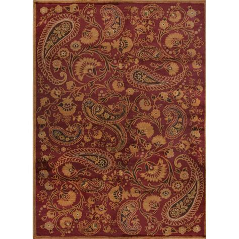 Paisley Area Rug Home Dynamix Paisley 7 Ft 8 In X 10 Ft 4 In Indoor Area Rug 1 Hd1072 200 The Home Depot