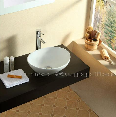 Sink Countertop Bathroom by Bathroom Countertop Oval Ceramic Basin Sink Hs02 Ebay