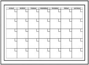 vinyl calendar template wallpops white board monthly calendar wall decal