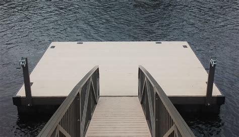 boat dock platform flotation systems inc aluminum boat docks piers and