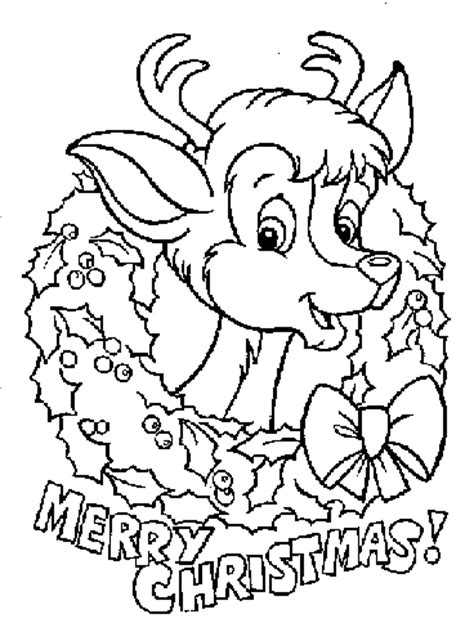 coloring pages for christmas reindeer coloring page christmas reindeer coloring pages 8