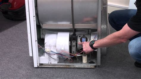 how to replace a tumble dryer capacitor