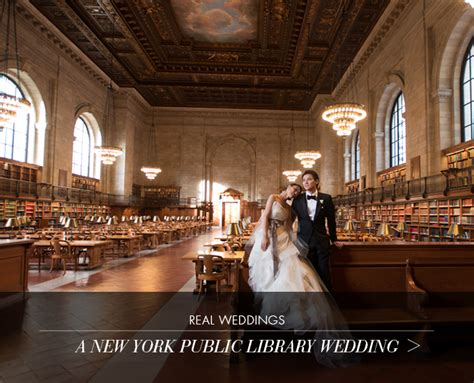 Wedding Atelier Nyc by Real Wedding A New York Library Wedding Atelier