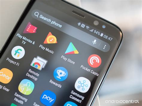android play store the play store finally joins the rest of its family with a play button app icon android central