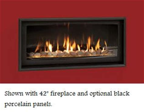 Gas Fireplace Trim Kits by Majestic Textured Black Inside Fit Fireplace Trim Kit
