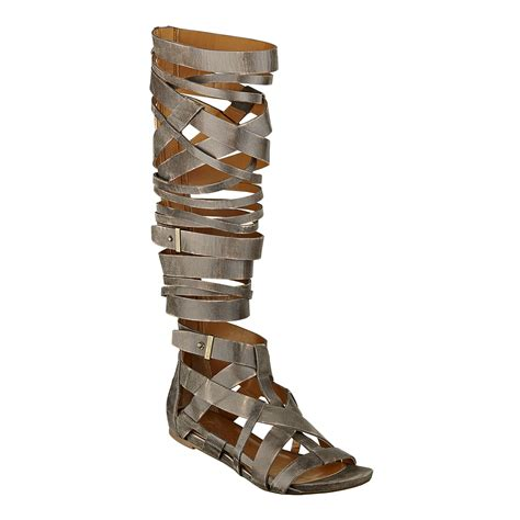 gladiator sandals nine west ask what s haute help me find affordable knee high