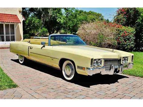 1971 Cadillac Eldorado Convertible For Sale by 1971 Cadillac Eldorado For Sale Classiccars Cc 1042365