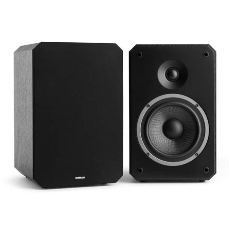 numan 2 way home theatre bookshelf speaker hifi sound